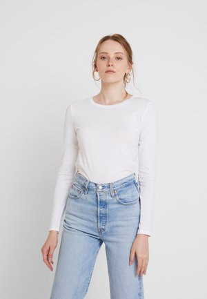 ONLCATE 2 PACK - T-shirt à manches longues - black/white