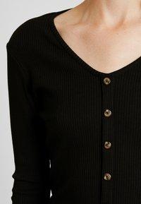 ONLY - ONLVIBEKE - Long sleeved top - black - 4