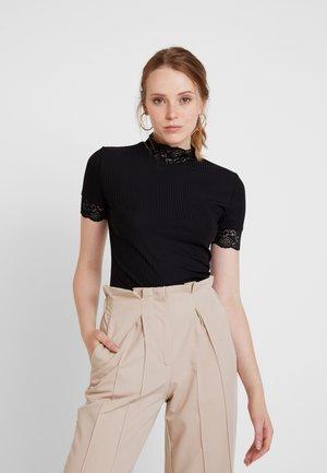 ONLMOLLY - T-shirt z nadrukiem - black