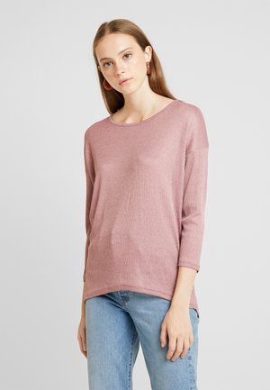 ONLSKYSHADOW 3/4 - Pullover - mesa rose/melange