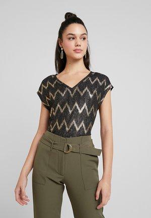 ONLCAROL  - T-shirt print - black