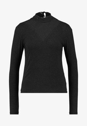 ONLMOSTER - Long sleeved top - dark grey melange