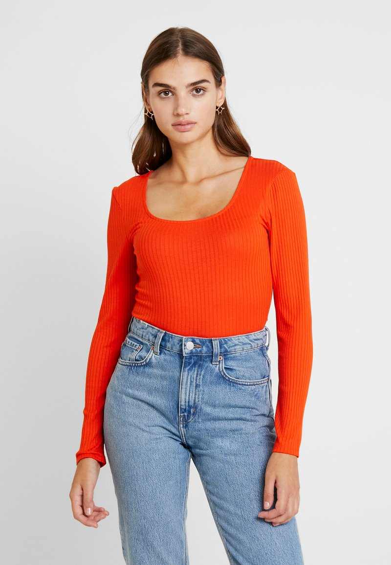 ONLY - ONLSISLEY - Long sleeved top - orange