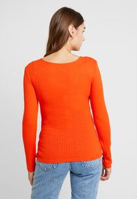 ONLY - ONLSISLEY - Long sleeved top - orange - 2