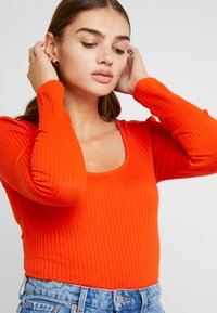 ONLY - ONLSISLEY - Long sleeved top - orange - 4