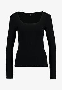 ONLY - ONLSISLEY - Langærmede T-shirts - black - 4