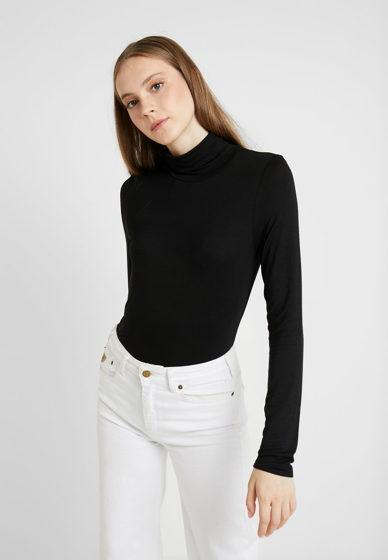 ONLY - ONLBEA HIGHNECK - Topper langermet - black