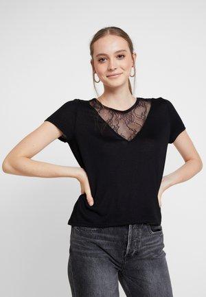 ONLVIGGA MIX - T-shirt imprimé - black