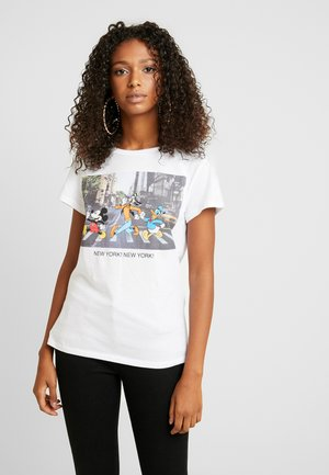ONLELVIRA DISNEY - T-shirt con stampa - white