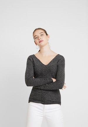 ONLKATTY - Langærmede T-shirts - black
