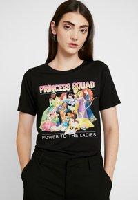 ONLY - ONLDISNEY MIX - Print T-shirt - black - 0