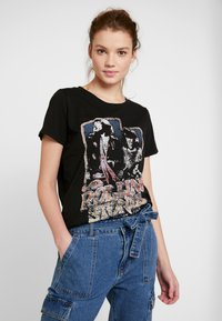 ONLY - ONLROLLING - Camiseta estampada - black - 0