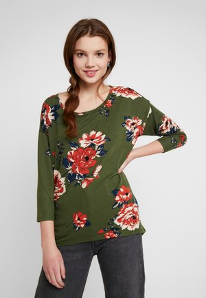 ONLELCOS FLOWER - Jumper - winter moss