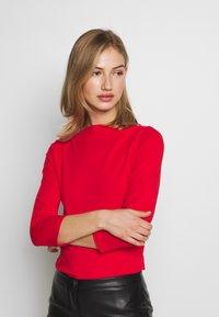 ONLY - ONLLIVE LOVE  - Bluzka z długim rękawem - high risk red - 0