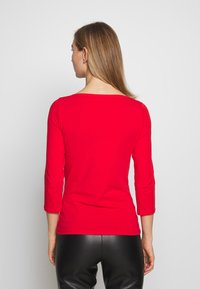 ONLY - ONLLIVE LOVE  - Bluzka z długim rękawem - high risk red - 2