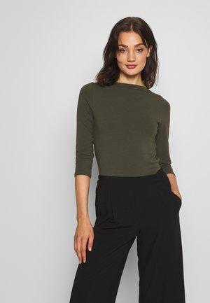 ONLLIVE LOVE  - Long sleeved top - kalamata