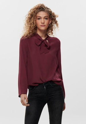 Blouse - chocolate truffle