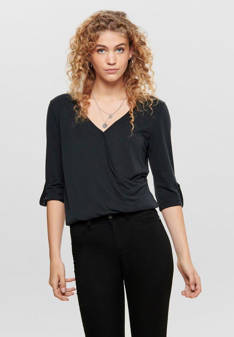 ONLY - Pitkähihainen paita - black