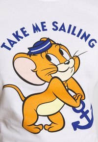 ONLY - TOM & JERRY LIFE - T-shirt z nadrukiem - bright white - 4