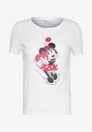 ONLDISNEY  - Print T-shirt - bright white