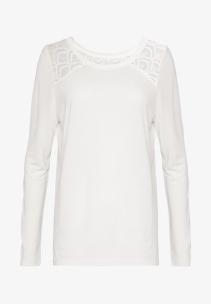 ONLNICOLE - Camiseta de manga larga - cloud dancer
