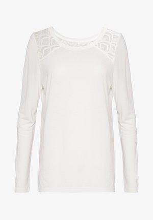 ONLNICOLE - Long sleeved top - cloud dancer