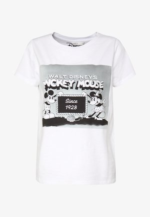 ONLMICKEY  - T-shirts print - white