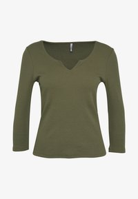 ONLY - ONLMIRA LIFE  - T-shirt à manches longues - kalamata - 4