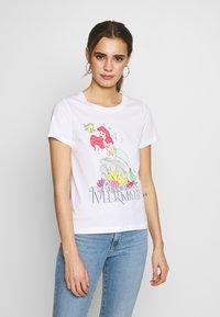 ONLY - ONLDISNEY MIX  - T-shirts med print - white - 0