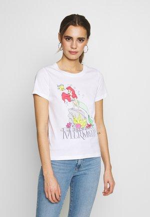 ONLDISNEY MIX  - T-shirt z nadrukiem - white
