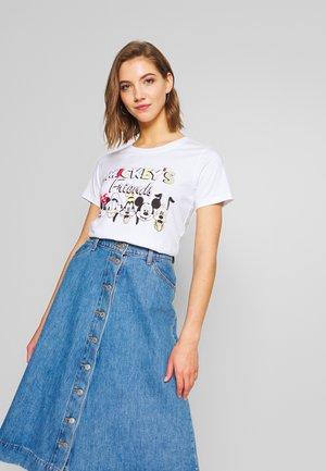 ONLDISNEY MIX  - T-shirt con stampa - white/mickeys friends