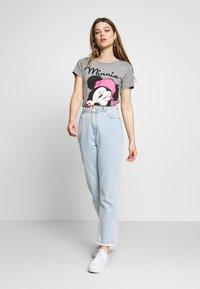 ONLY - ONLDISNEY MIX  - T-shirt print - medium grey melange - 1