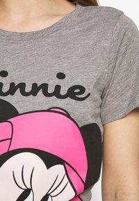 ONLY - ONLDISNEY MIX  - T-shirt print - medium grey melange - 4