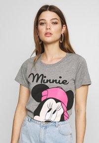ONLY - ONLDISNEY MIX  - T-shirt print - medium grey melange - 0