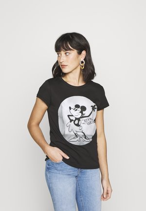 ONLMICKEY OLD - T-shirt imprimé - black