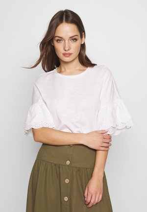 ONLCELINA LIFE  - T-shirt basic - cloud dancer