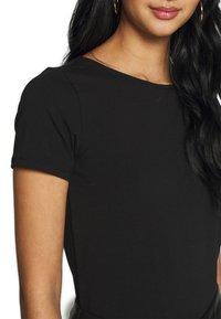 ONLY - ONLMATHILDE ORGANIC - T-shirt imprimé - black - 5