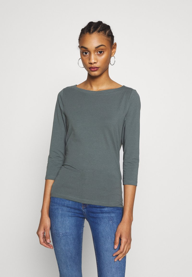 ONLY - ONLFIFI LIFE BOAT NECK - Bluzka z długim rękawem - balsam green
