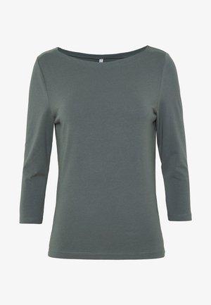 ONLFIFI LIFE BOAT NECK - Topper langermet - balsam green