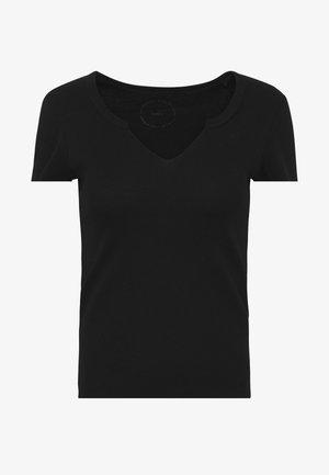 ONLVICKY TEE - Jednoduché triko - black