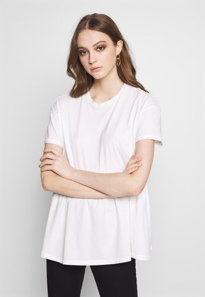 ONLALLIE  LONG TEE - T-shirts basic - bright white