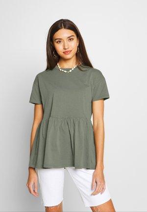 ONLALLIE  LONG TEE - T-shirt basique - aqua gray