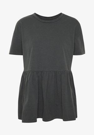 ONLALLIE  LONG TEE - Basic T-shirt - black