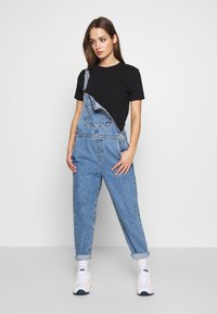 ONLY - ONLDARCY LIFE BALLON OVERALL - Dungarees - light blue denim - 1
