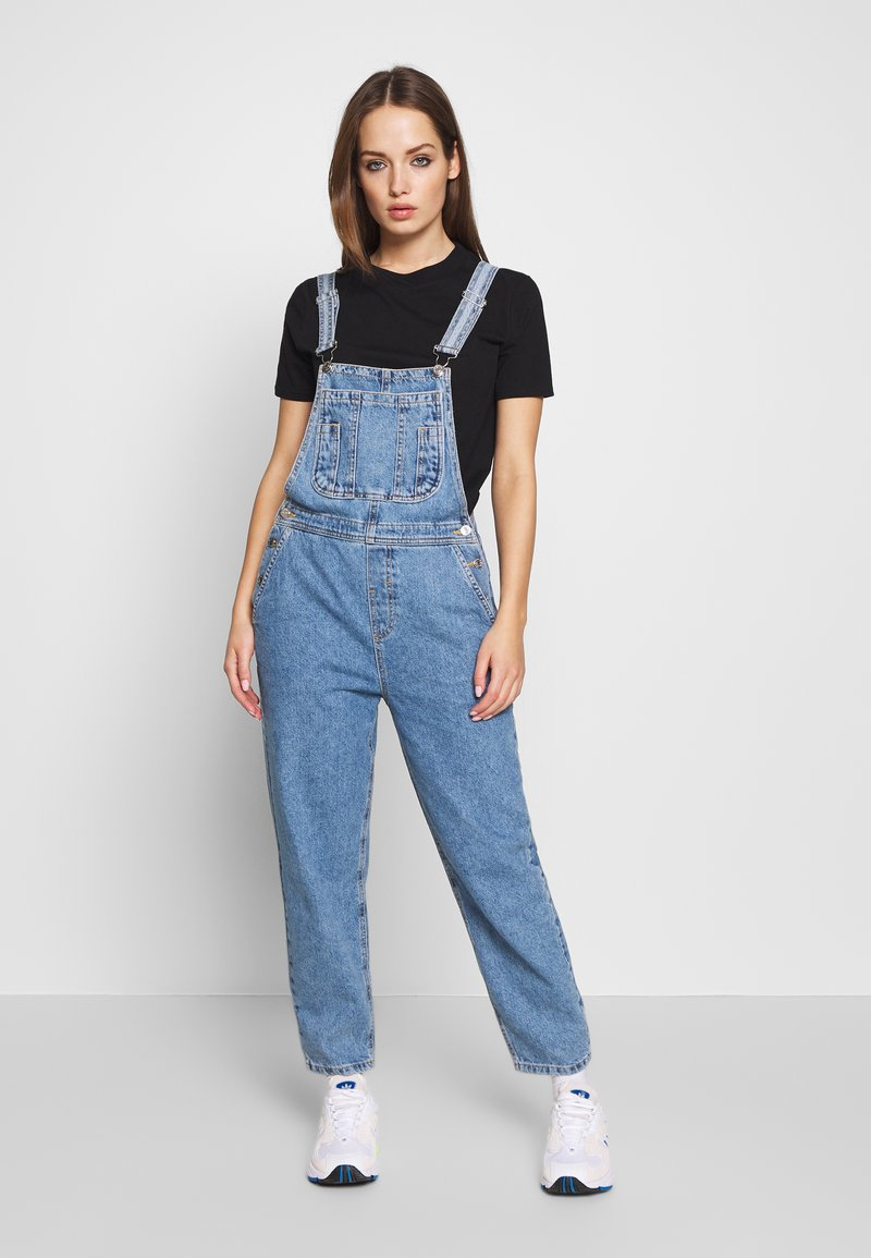 ONLY - ONLDARCY LIFE BALLON OVERALL - Dungarees - light blue denim
