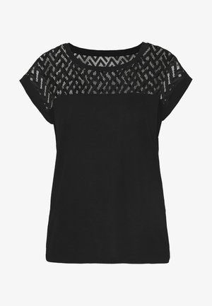 ONLNEW NICOLE LIFE - T-shirt print - black