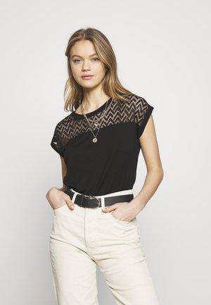 ONLNEW NICOLE LIFE - T-shirts med print - black