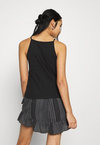 ONLY - ONLMAY LIFE STRIPE 2PACK - Top - black/golden spice - 3