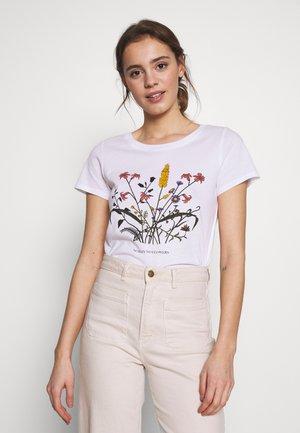 ONLROSA - T-shirts med print - white