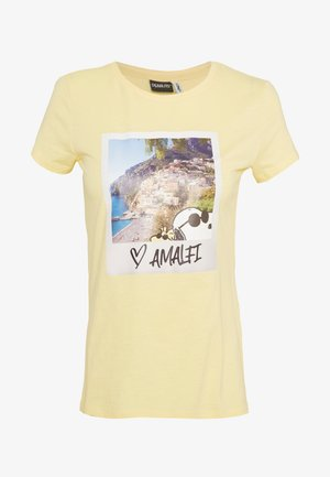 ONLPEANUTS LIFE FIT PHOTO BOX - Print T-shirt - pineapple slice